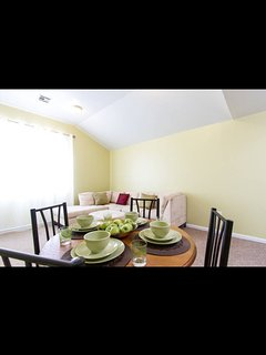 Shared living and dinning room