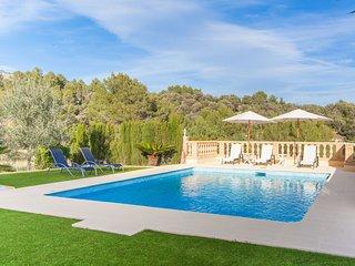 MANCORINA - modern villa with private pool in Mancor de la Vall, Tramuntana, Inca