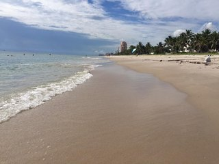 Blizzard Blues?  Stay at Salty Bungalows on the Beach at Casa Carmela, Lauderdale by the Sea