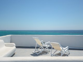 Unique Beachfront Cycladic Villa | Agios Prokopios | Naxos island