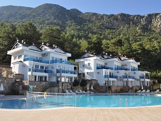 Orka Royal Hills Apartment D-1.Duplex 90 sq.m. Free Wi-Fi. Free Beach,Transfer., Oludeniz