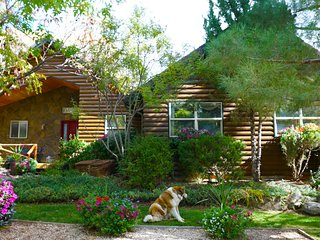 The Log House at Sunset Canyon Ranch