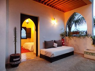 Triple room at ChillOut Villa in Marrakech