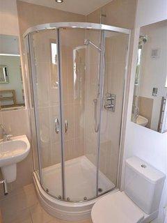 En suite shower room.