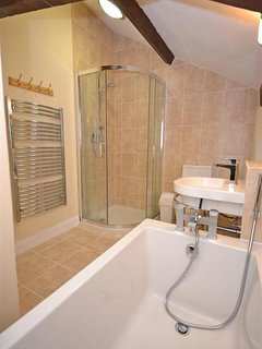 Another view of the family bath and shower room.