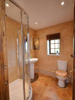 The modern shower rooom.