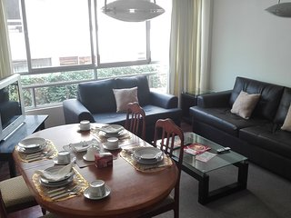 Nice apartment with interior view very close to the seashore in Miraflores