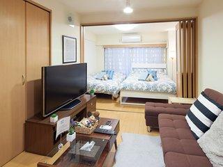 Shinjuku/Kabukicho ara Clean&Cozy studio,Free wifi