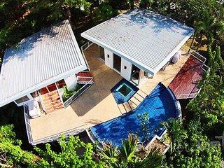 Modern 4-Bed Hillside Villa in Kamala