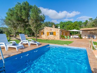 ES RAVELLAR - villa with private pool for 4 people in Costitx