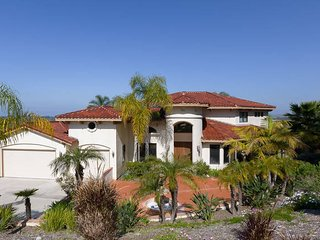Breathtaking Santa Barbara Villa in Oceanside, CA, San Luis Rey