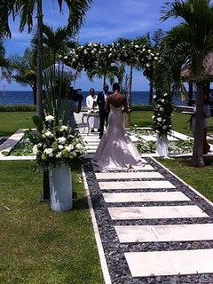 Beautiful wedding ceremony