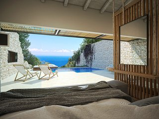 Emerald Suite with private pool, Askos
