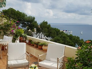 Exclusive Illetes apartment, fantastic sea views, shared pool, close to beach