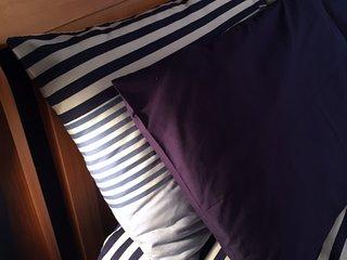 two size pillows