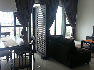 KLCC view, service apartment Jln Tun Razak