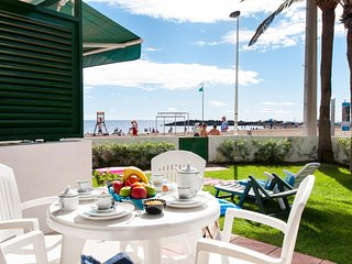 Beachfront Apartment Las Burras MRA 02, San Agustín