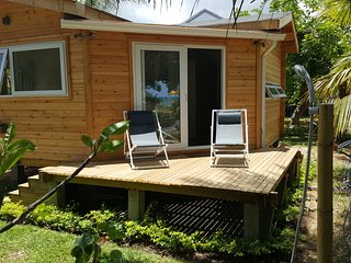 Between2waters modern Executive Chalet on the beach ( Rental Car offered)
