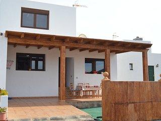 La Santa.Lanzarote. Casa completa con inmejorables vistas