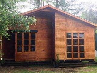"""Cabana nueva Villarrica Pucon """"Molco"""" ,  en un gran parque natural"""