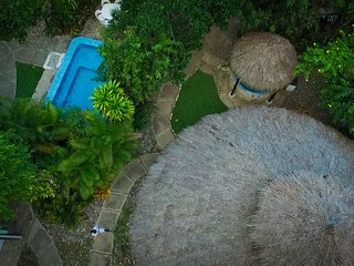 Jungle,Villa Spa beside a River for large groups,families,weddings,events