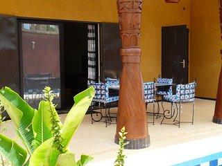 Luxueuse Villa neuve à louer de 3 chambres avec piscine, Ngaparou