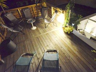 Spacious designer apartment + studio, Nice