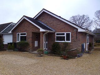 Two bed detached bungalow which is dog friendly