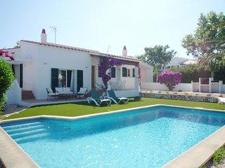 Chalet en Binibeca Vell con piscina privada, WiFi gratis