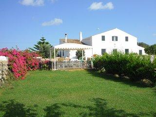 Casa de campo menorquina con piscina privada, WiFi gratis