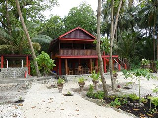 Surf lodge, Asu Island, Northern Sumatra, Indonesia. Perfect waves-no crowd, Nias Island
