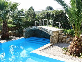 Trizonia House - Stunning luxury villa with sea view and private pool