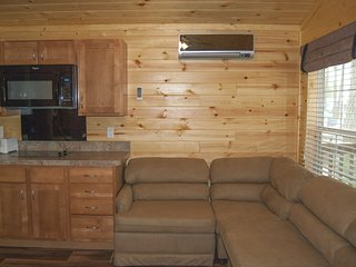 Deluxe Park Model Cabin at Fort Whaley Campground!