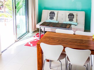 Akumal Jungle Camp - Deluxe 2 Bedroom Family Casita with Wildlife & Nature!