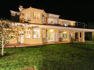 Villa de lujo con vistas al mar, a la bahía, piscina y BBQ