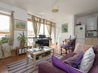 Stunning 1 dbl bed flat in London fields/Broadway market near outdoor pool