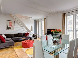 Lovely Top floor duplex - Champs-Elysees