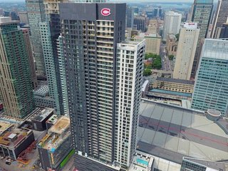 Fully Furbished Luxury Condo Downtown - Rated 5 Stars  (Bell Centre)