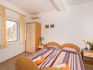 Apartments & Room Astrid - Standard Double Room with Terrace and Sea View