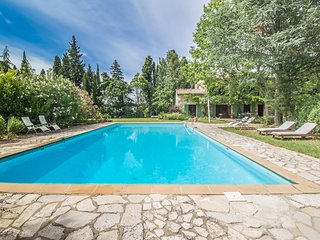 Close to Avignon, superb Landhouse 10p. with its majestic pool, Noves