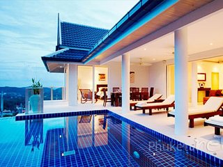 Luxurious Sea View Villa in Nai Harn