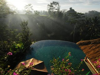 Relaxing four bedroom villa in Ubud Bali