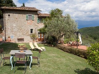 Villa Fabbroni Raoul Unit on top of Chianti hills