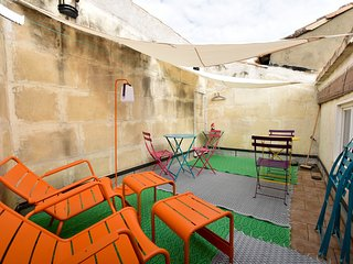 Baudan - Maison avec terrasse et climatisation -, Arles
