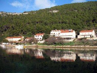 Zidine Apartment in Soline,Mljet, Govedari