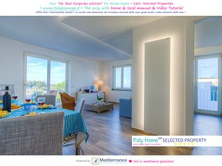 Holiday Apt ♥ Bright Quiet ♥ 4+2sleeps 2btrs ♥ Seaview ♥ Balcony ♥ Beach at 50m, Ischia