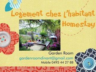 Garden Room - Dinant - Homestay - Logement chez l'habitant