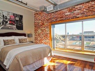 Furnished 1-Bedroom Loft at Granby St & E Charlotte St Norfolk