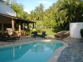 Beautiful Portillo Villa With Private Pool And Beach, Las Terrenas