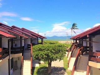 Apartamento beira mar - pé na areia -, piscina, ar condicionado, churrasqueira, Ponta das Canas